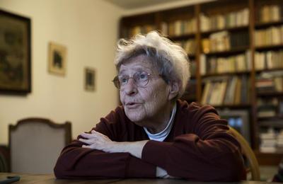 Ferge Zsuzsa 90 éves