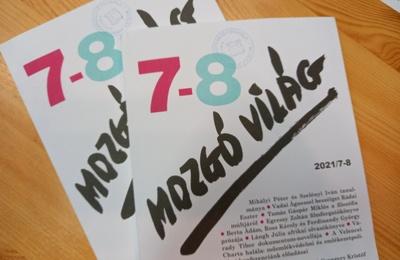Megérkezett a Mozgó Világ 2021/7-8- száma
