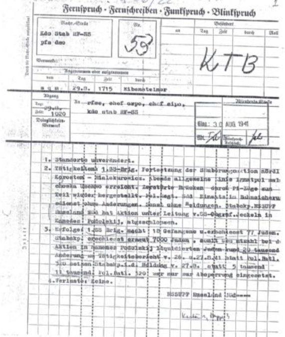 Emléknapi találkozó az 1941-es kőrösmezői deportálás 77. évfordulója alkalmával_OKTÓBER 12. (CSÜTÖRTÖK)