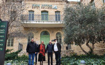 Izraelben tárgyal a WJLF delegációja